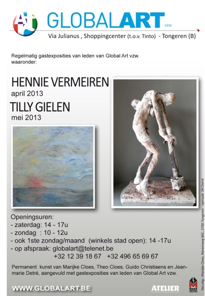 Hennie Vermeiren april/Tilly Gielen mei